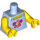 LEGO Minifig Torso with Butterfly Decoration (88585)