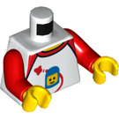 LEGO Minifig Torso with Space Logo (973 / 76382)