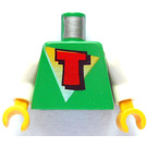 LEGO Minifig Torso with Time Cruisers Logo (973)