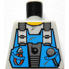 LEGO Minifig Torso without Arms with Decoration (973)