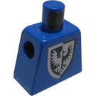 LEGO Minifig Torso without Arms with Silver and black Eagle in shield (973)