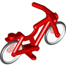 LEGO Minifigure Bicycle with Transparent Wheels and Black Tyres (4719 / 73537)
