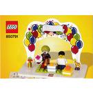 LEGO Minifigure Birthday Set 850791 Instructions