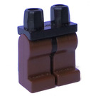 LEGO Minifigure Hips with Brown Legs (3815)
