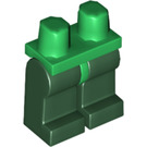 LEGO Minifigure Hips with Dark Green Legs (73200)