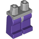 LEGO Minifigure Hips with Dark Purple Legs (73200 / 88584)