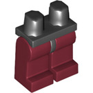 LEGO Minifigure Hips with Dark Red Legs (73200)
