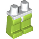 LEGO Minifigure Hips with Lime Legs (73200)
