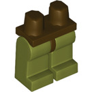 LEGO Minifigure Hips with Olive Green Legs (73200)