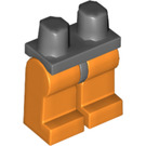 LEGO Minifigure Hips with Orange Legs (73200)