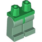 LEGO Minifigure Hips with Sand Green Legs (73200)