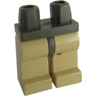 LEGO Minifigure Hips with Tan Legs (3815 / 73200)