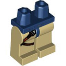 LEGO Minifigure Hips with Tan Legs with Gun Holster (3815 / 48460)