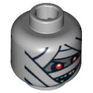 LEGO Minifigure Mummy Head (Safety Stud) (3626 / 94065)