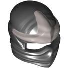 LEGO Minifigure Ninja Mask 2 with Metallic Silver Decoration (25392 / 99311)