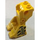 LEGO Minifigure Platform Exo-Skeleton with Hose and Danger Stripes Decoration (41525)
