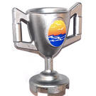LEGO Minifigure Trophy with Sticker from Set 8897 (15608 / 89801)