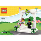 LEGO Minifigure Wedding Favour Set 40165 Instructions