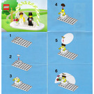 LEGO Minifigure Wedding Favour Set 853340 Instructions