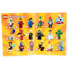 LEGO Minifigures - Series 18 Random Bag Set 71021-0 Instructions