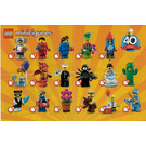 LEGO Minifigures - Series 18 Random Bag Set 71021-0 Instructions