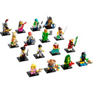 LEGO Minifigures - Series 20 - Complete Set 71027-17