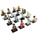 LEGO Minifigures Series 4 - Complete Set 8804-17