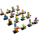 LEGO Minifigures - The Simpsons Series 2 - Complete Set 71009-17