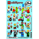 LEGO Minifigures - The Simpsons Series Random bag Set 71005 Instructions