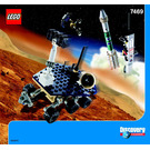 LEGO Mission To Mars Set 7469 Instructions