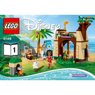 LEGO Moana's Island Adventure Set 41149 Instructions