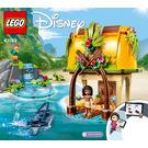 LEGO Moana's Island Home Set 43183 Instructions
