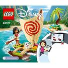 LEGO Moana's Ocean Adventure Set 43170 Instructions