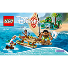 LEGO Moana's Ocean Voyage Set 41150 Instructions
