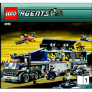 LEGO Mobile Command Center Set 8635 Instructions