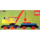 LEGO Mobile Crane and Wagon Set 134-1