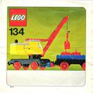 LEGO Mobile Crane and Wagon Set 134-1 Instructions