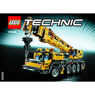 LEGO Mobile Crane MK II Set 42009 Instructions
