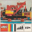 LEGO Mobile Crane (Plate Base) Set 128-3