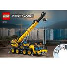 LEGO Mobile Crane Set 42108 Instructions