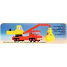 LEGO Mobile Crane Set 490-1