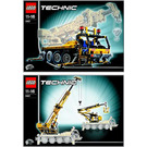 LEGO Mobile Crane Set 8421 Instructions