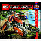 LEGO Mobile Defense Tank Set 7706 Instructions