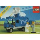LEGO Mobile TV Studio Set 6661