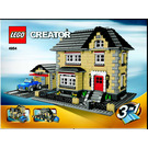 LEGO Model Town House Set 4954 Instructions