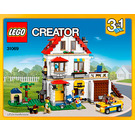 LEGO Modular Family Villa Set 31069 Instructions
