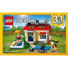 LEGO Modular Poolside Holiday Set 31067 Instructions