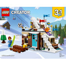 LEGO Modular Winter Vacation Set 31080 Instructions