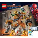 LEGO Molten Man Battle Set 76128 Instructions