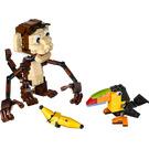 LEGO Monkey and Toucan Set 31019